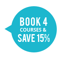 Book 4 Courses & Save 15%